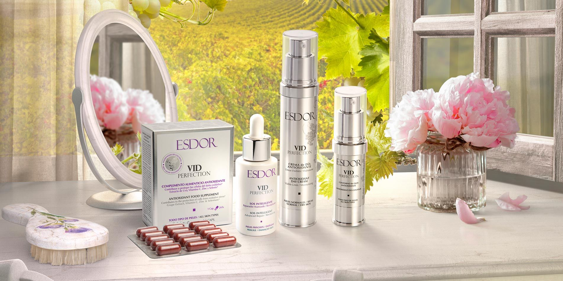"""Multimasking face renovation"" Anty-aging ESDOR"