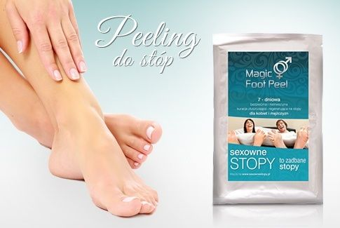 Magic Foot Peel dostępny w MNE Salon & Spa